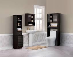 blind door bathroom tall cabinet u0026 bathroom shelves over toilet
