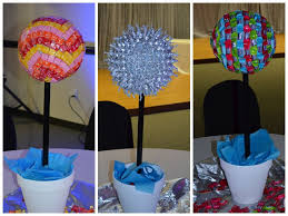 Candy Topiary Centerpieces - 146 best toparios images on pinterest candy bars candy trees
