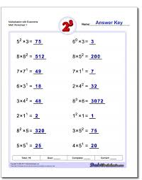 Multiplying Exponents Worksheet by Exponents In Factor Form Mathts Division Property Oft 001 Pin