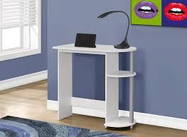 Small White Corner Computer Desk Corner Computer Desk For Small Spaces Saomc Co
