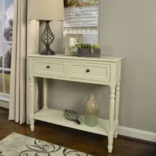 better homes and gardens shutter 2 drawer console table multiple