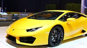 lamborghini huracan front yellow lamborghini huracan v10 mid engined sports car front view