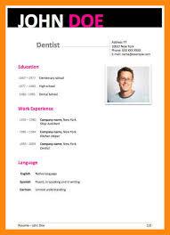 cv writing dentist creator resume