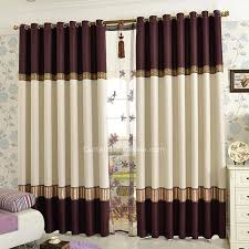 rideau chambre à coucher adulte rideau chambre a coucher adulte rideaux chambre marron coton raye