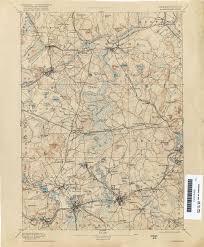 Boston Massachusetts Map by