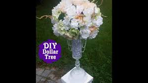 Flower Table L Diy Dollar Tree L Wedding Reception Table Centerpiece L