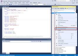 getting started with seqan on windows using visual studio u2014 seqan