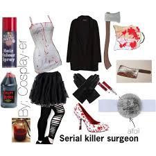Serial Killer Surgeon Costume Polyvore