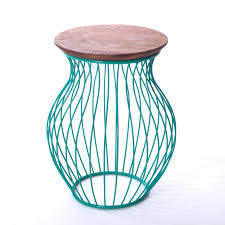 Turquoise Side Table Must Have Turquoise Decor Coastal Living