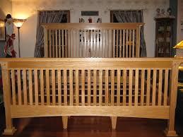 mission style bed frame susan decoration