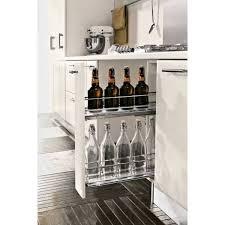 rangement coulissant pour cuisine rangement coulissant pour meuble bas de 150mm accessoires cuisines