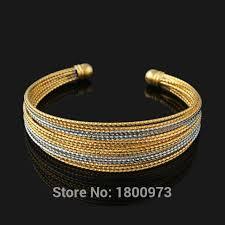 aliexpress buy new arrival men jewelry gold silver aliexpress buy new arrival gold bracelets for men women 18k