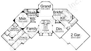 jordain luxury house plan 3000 to 4000 sq ft home plan jordain house plan first floor plan