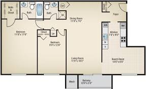 two bedroom two bath apartment floor plans two bedroom apartments for rent in gaithersburg md montgomery club