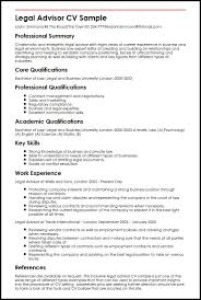 Example Of Resume Skills And Qualifications by Legal Advisor Cv Sample Myperfectcv