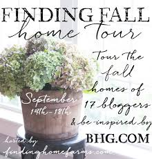 Thrifty Blogs On Home Decor Finding Fall Home Tour 2015 Finding Home Farms