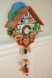 i had this cool cuckoo clock as a child my grandma bought it for