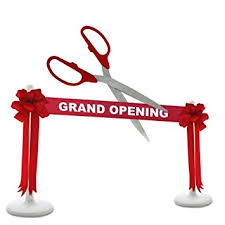 grand opening ribbon deluxe grand opening kit 25 silver ceremonial
