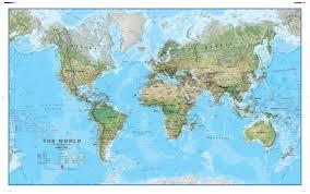 Image Of World Map Mapsherpa Maps International