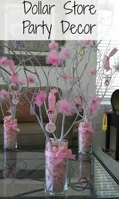 baby shower stores dollar store decorating great for a baby shower these center pieces