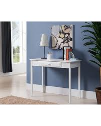 White Parsons Desk Spectacular Deal On Kings Brand Furniture Ho240 Wood Home U0026 Office
