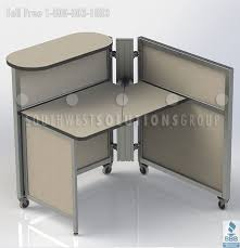 Office Cubicle Desk Mobile Office Workstations Benching Systems Portable Cubicles
