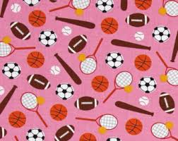 soccer wrapping paper robert kaufman sports fabric etsy
