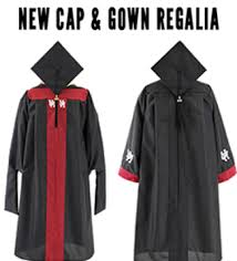 newly designed graduation regalia available through uh bookstore
