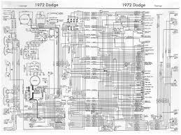 dodge challenger 1972 complete wiring diagram all about wiring