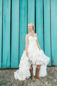 wedding dress cowboy boots cowboy boots and weddings magazine