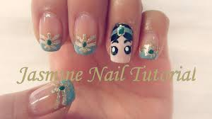 106 best images about princess jasmine nails on pinterest nail