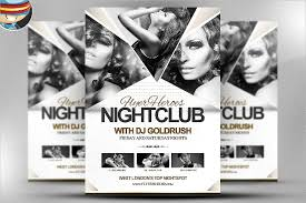 25 club flyer templates free psd ai eps vector format download