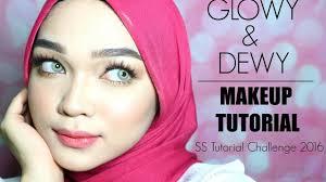 Challenge Tutorial Glowy Dewy Makeup Look Ss Tutorial Challenge 2016