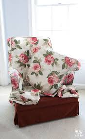 Painting Fabric Upholstery How To Paint Upholstered Furniture In My Own Style