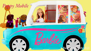 jeep barbie barbie ultimate puppy mobile from barbie u0026 her sisters in a puppy