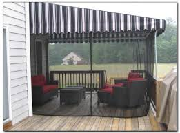 Outdoor Mesh Curtains Capitol Awninginsect Curtains Capitol Awning