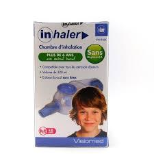 chambre d inhalation ventoline chambre d inhalation plus de 6 ans inhaler parapharmacie discount