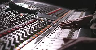 Recording Studio Mixing Desk by Studio A Resident Studios
