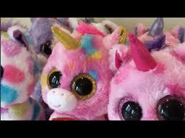 beanie boo unicorn collection