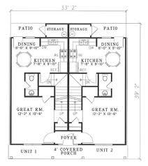 southern style house plan 2 beds 1 50 baths 1005 sq ft plan 17 2270