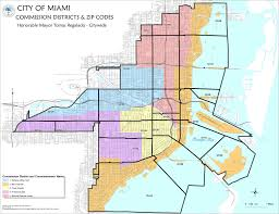 Map Of Miami Dade County by Miami Dade County Zip Code Map Throughout Miami Zip Code Map