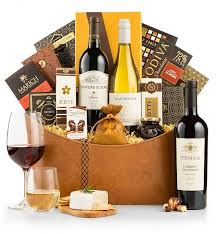 wine and cheese gift baskets wine baskets by gifttree