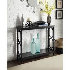 Turquoise Console Table Omega Console Table In Black Or White Free Shipping Today