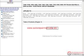 free auto repair manual international truck oncommand isis