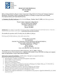 proposal for services template free template examples
