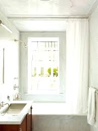 Curtain Ceiling Mount Ceiling Shower Curtain Track Uk Gopelling Net Mount 25 Within