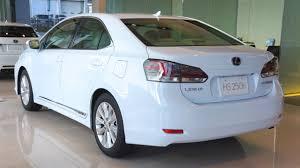 lexus hs 250h mpg lexus hs 250h interior and exterior car for review