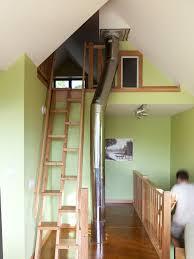 ship ladder stair to attic houzz