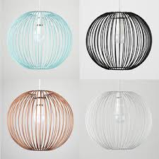 Ceiling Light Shade Vintage Industrial Wire Cage Non Ceiling Light Pendant Shade Led