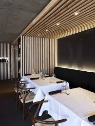 luxury wooden restaurant interior decorating design right now